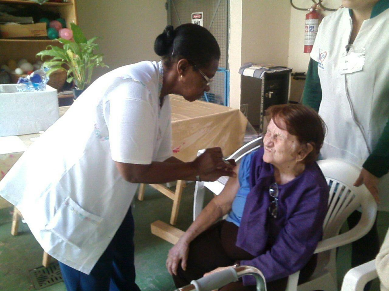 Vacinação contra gripe H1N1 na Angels4u
