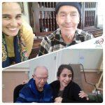 O estagiário de Psicologia no Centro-dia para idosos